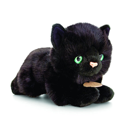 Keel Black Cat Plush Soft Toy 30cm 'George'