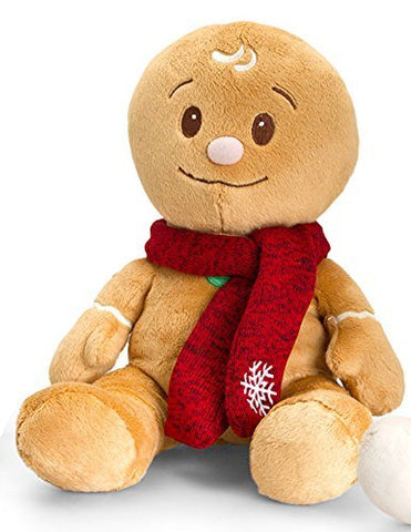Christmas Pals Gingerbread Man 15cm Soft Plush Toy