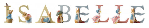 Beatrix Potter Alphabet Letters 'Isabelle' Set