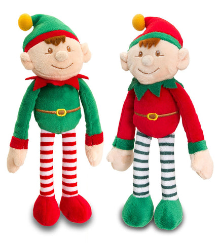 Keel Toys Dangle Elf Set of 2 25cm