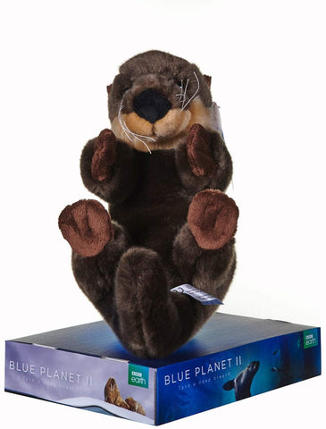 BBC Blue Planet II SEA OTTER Soft Toy 12454PP