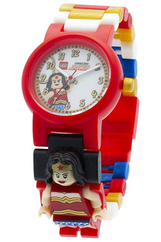 Lego Wonder Woman DC Comics Super Heroes Minifigure Link Buildable Watch