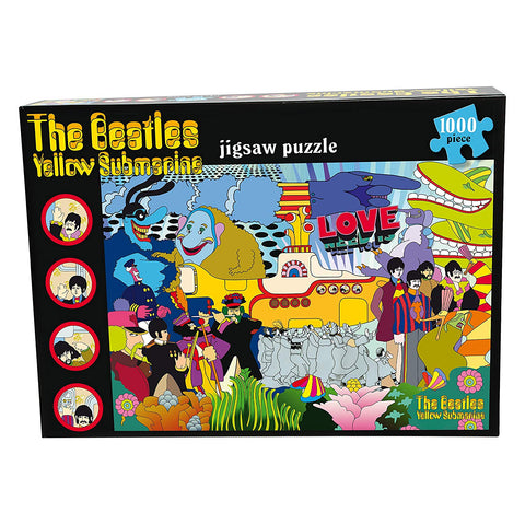The Beatles Yellow Submarine Jigsaw Puzzle 1000 Piece