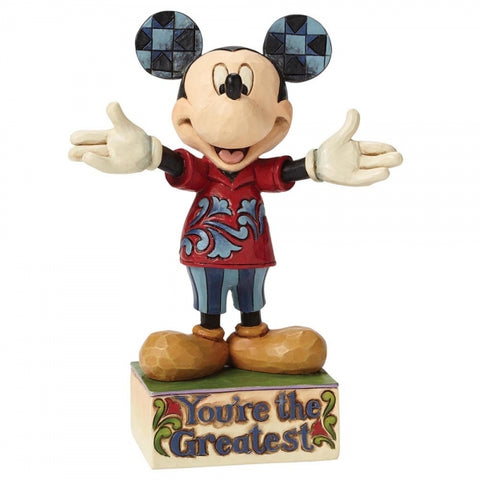 Disney Traditions You're The Greatest Mickey Figurine 15cm