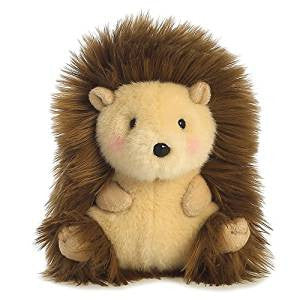 Aurora Happy Hedgehog Rolly Pets Plush Toy 14cm