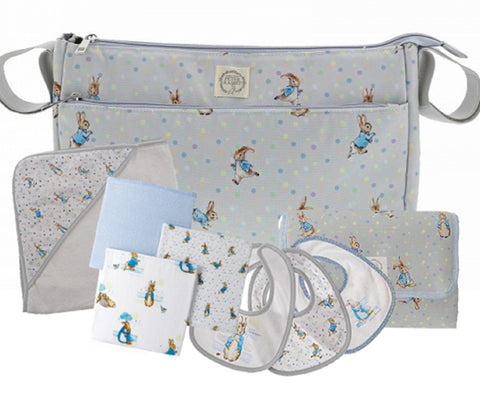 Peter Rabbit Baby Collection Pram Organiser Bag Gift Set (Pram Organiser 31cm)