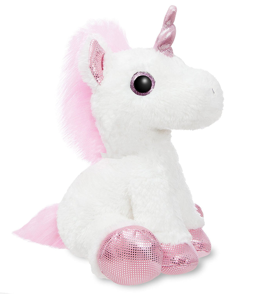 Aurora World Sparkle Tales Princess Unicorn 30cm White