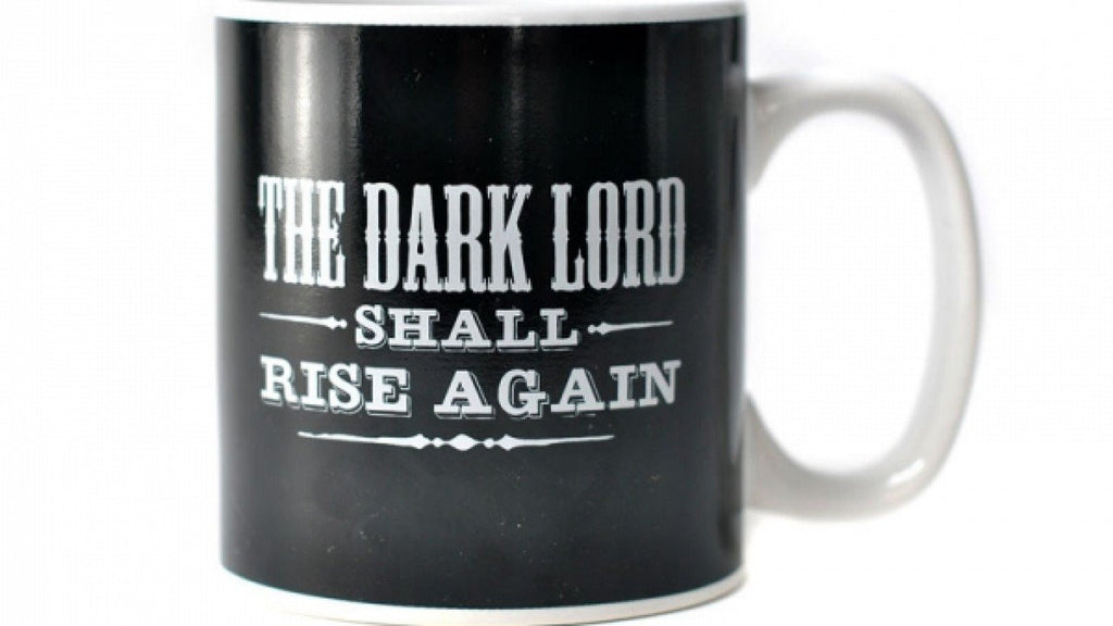 Harry Potter The Dark Lord Will Rise Again Heat Changing Mug