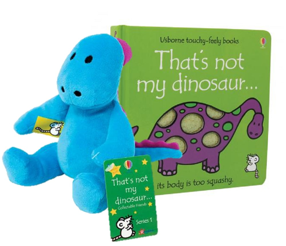 That's not my dinosaur ..Hardcover Book With Dinosaur Plush Gift Set