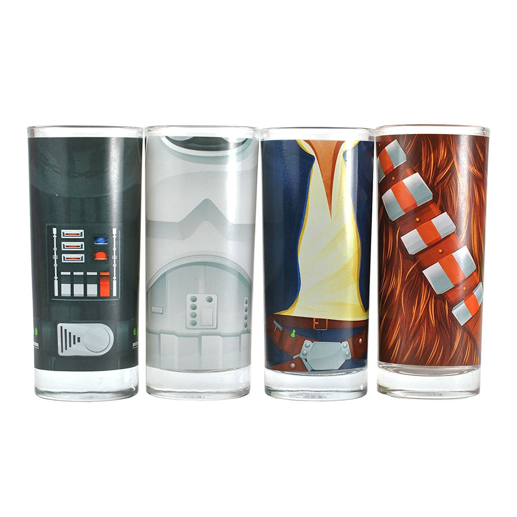 STAR WARS Character Torso Glasses Set