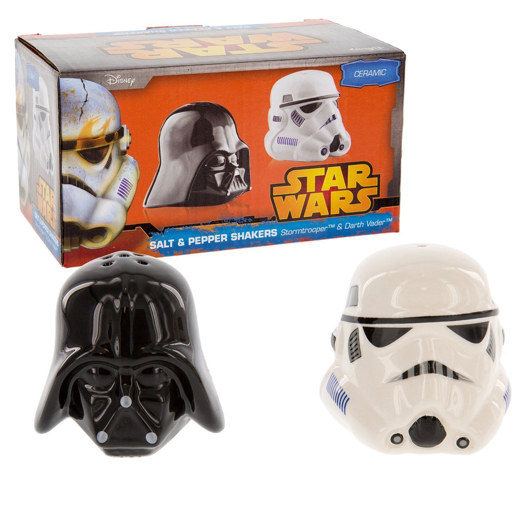 Star Wars Darth Vader & Stormtrooper Salt and Pepper Pots Pots New Boxed