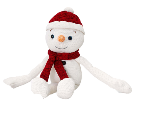 Keel Christmas Knitted Dangle Snowman 20cm