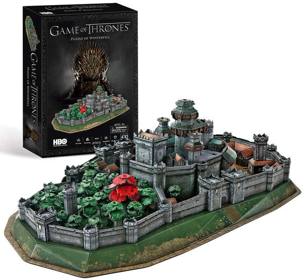 GAME OF THRONES Winterfell 3D Puzzle (430pc)