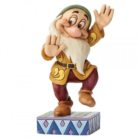 Disney Traditions Bashful Boogie Figurine 11cm