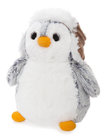 Aurora Pompom Penguin With Hat Soft Toy 23cm
