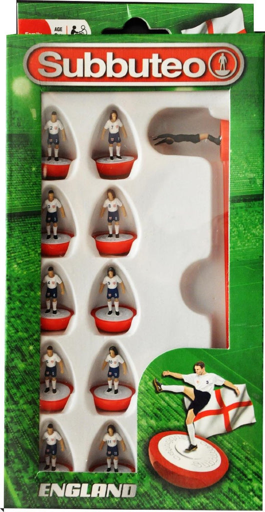 Paul Lamond Subbuteo England Team Set