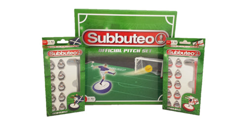 Subbuteo Pitch Set With 2 Teams