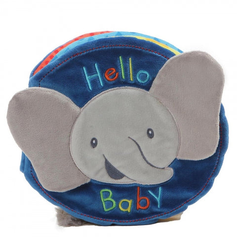 Baby Gund Flappy the Elephant Soft Plush Book