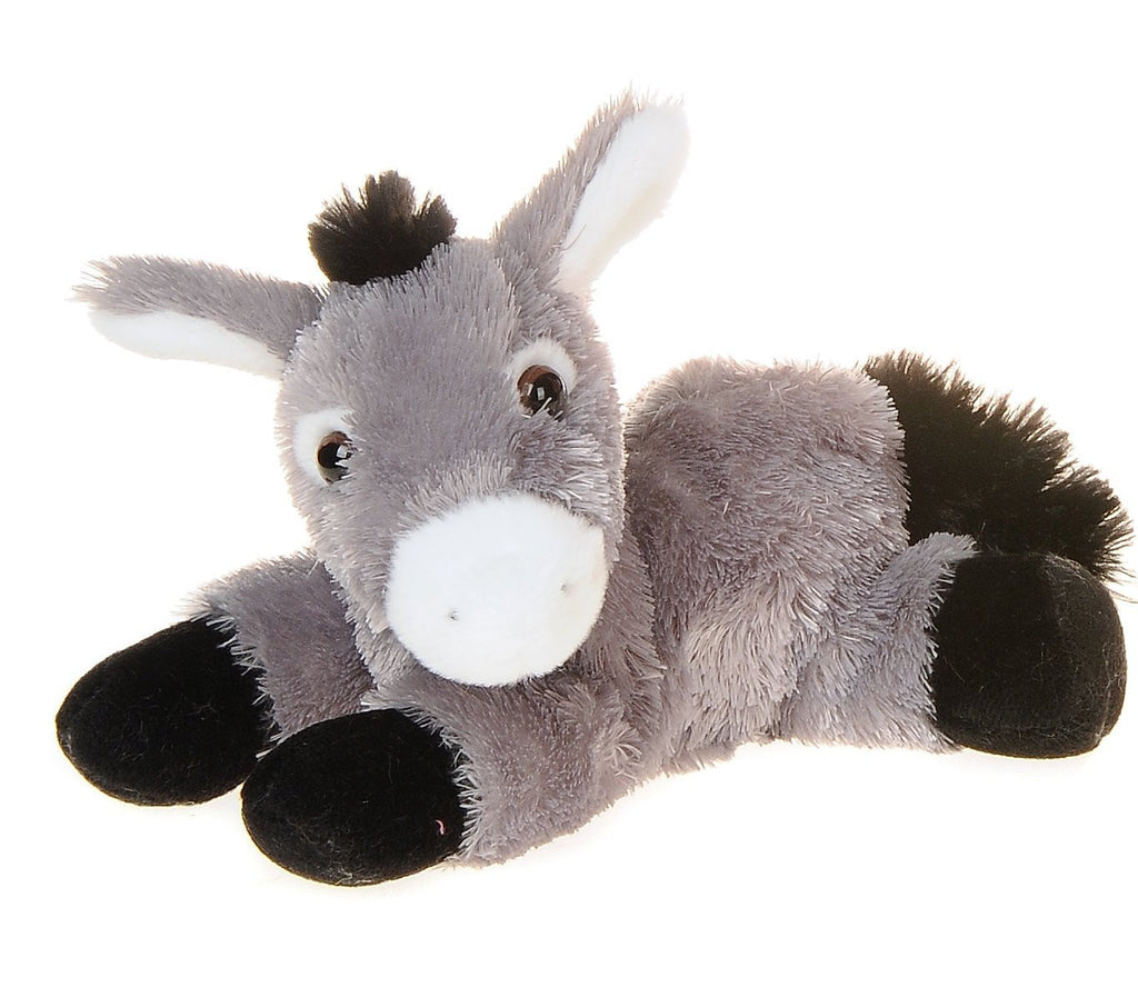 Aurora Mini Flopsie Donkey Soft Toy 20cm