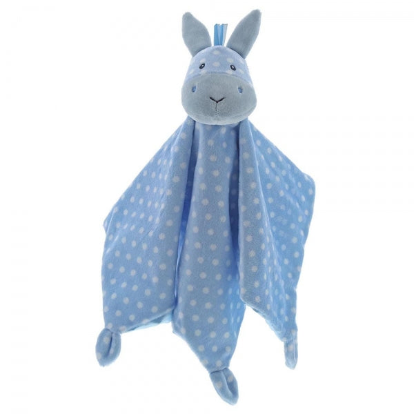 Baby Gund Roly Poly Horse Blue Baby Comforter Blankie