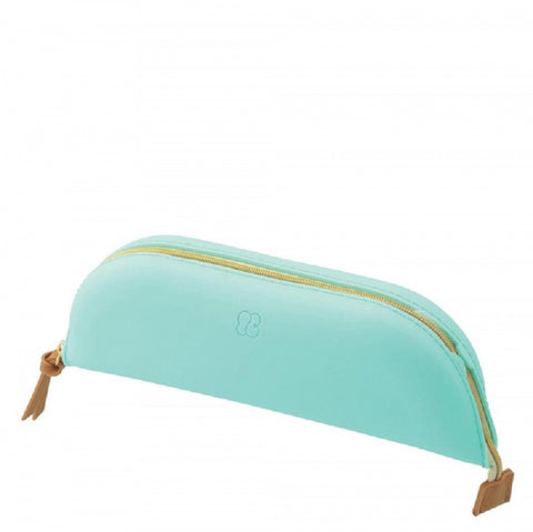 Pencil Tray Case/Make Up Tray Case Mint Green