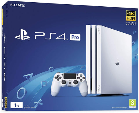 Sony PlayStation 4 Pro 1TB White PS4