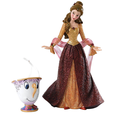 Disney Showcase Belle and Chip Figurine