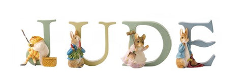 Beatrix Potter Alphabet Letters 'Jude' Set