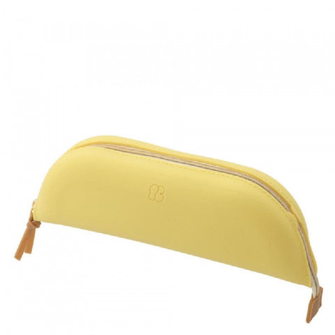Pencil Tray Case/Make Up Tray Case Lemon Yellow