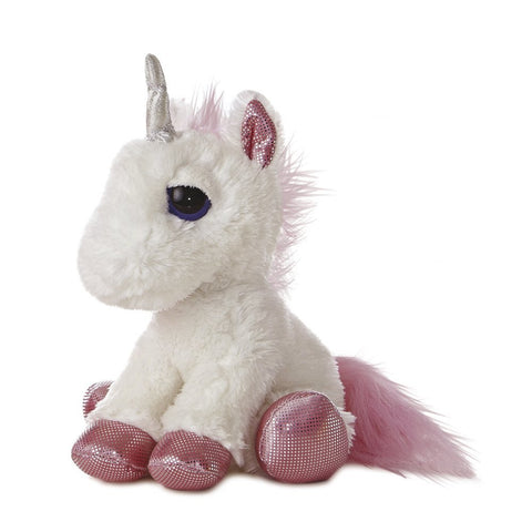 Aurora World 12-inch Dreamy Eyes White Unicorn