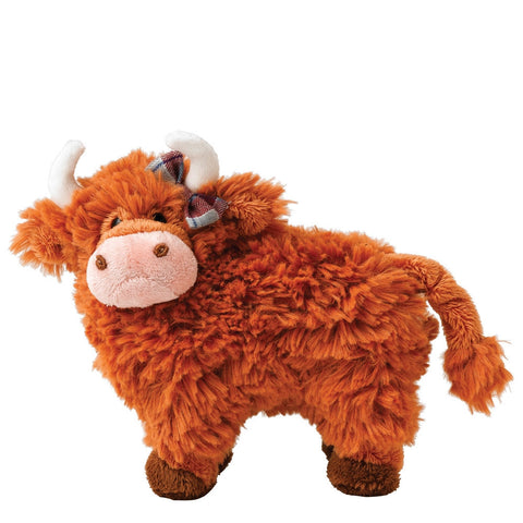 GUND Hairy Coos Shona The Highland Cow Plush Soft Toy 19cm