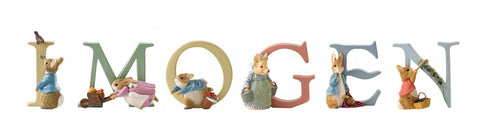 Beatrix Potter Alphabet Letters 'Imogen' Set