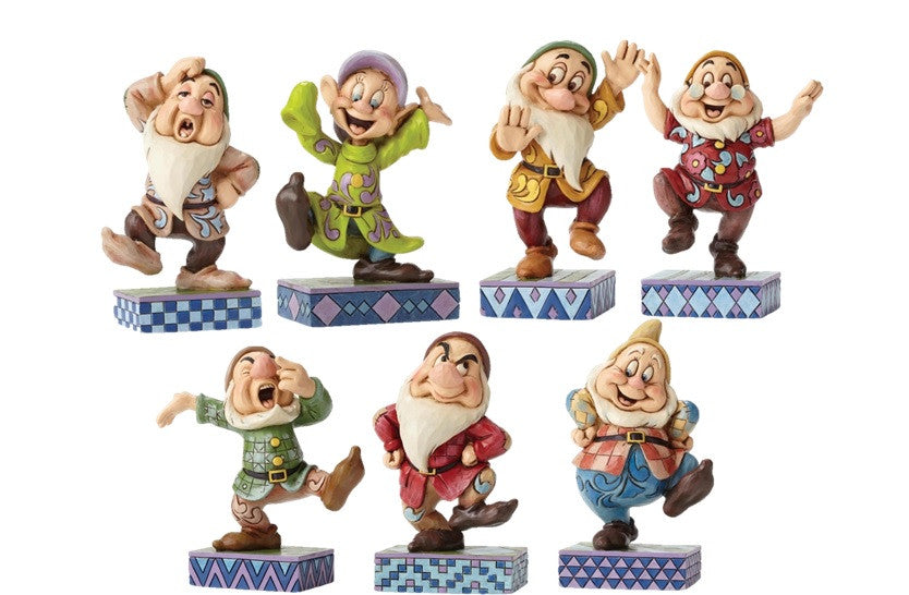 Disney Traditions Set of 7 Dancing Dwarfs