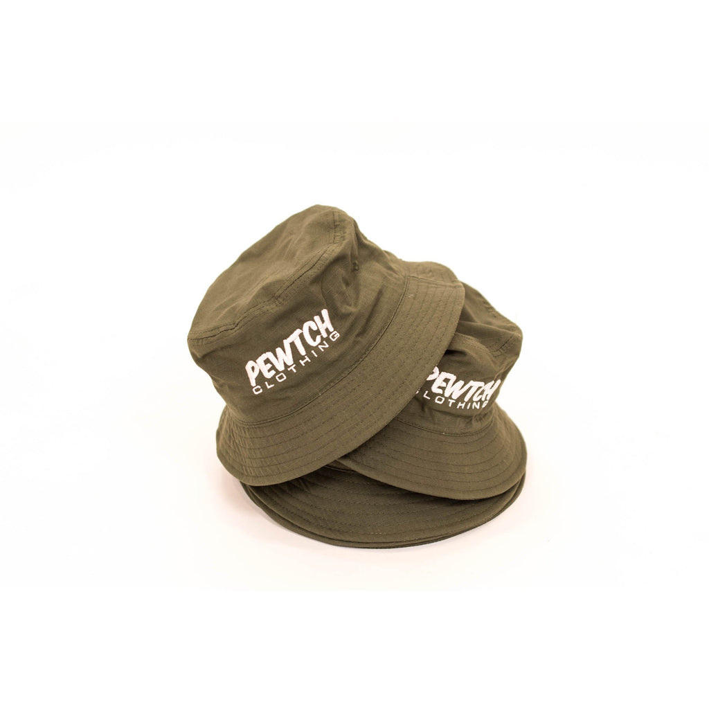 THE  BOBBIE  - ARMY BUCKET HAT – Pewtch Clothing ea425848480