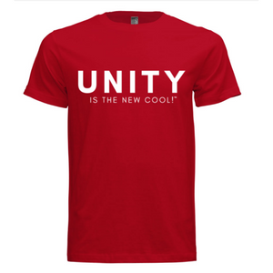 Human Citizens Signature Unity Is The New Cool T-Shirt (Red/White) - Unisex