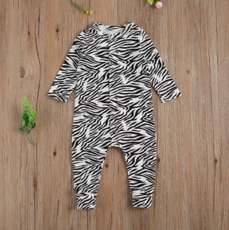Zebra Animal Print 1 Pc Jumpsuit