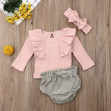 Cora Ruffle Outfit