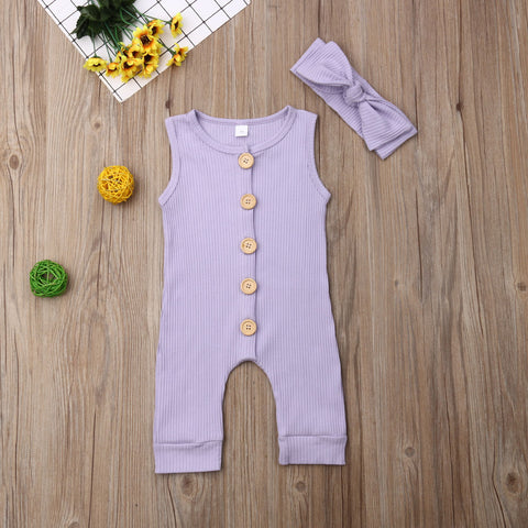 Noam Sleveless 1 Pc Romper
