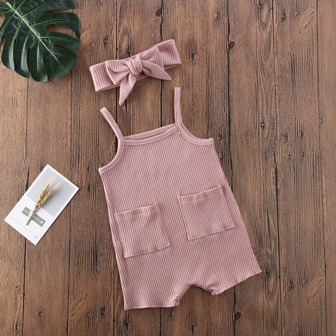 Nelly Romper and Headband