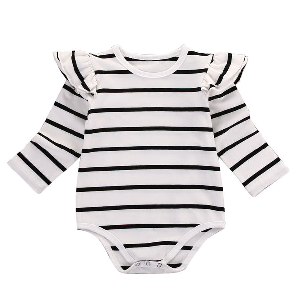 Striped  Everyday Bodysuit