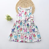 Cartoon Animal Party Dress