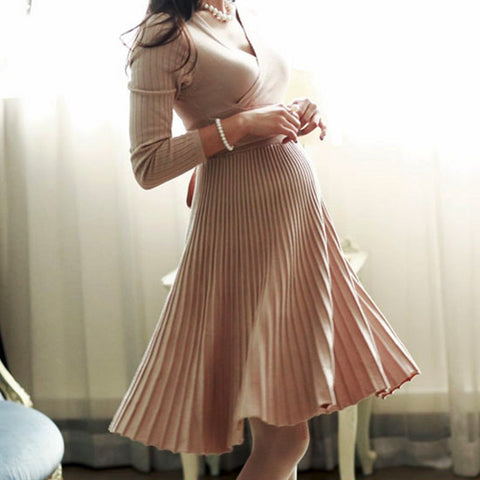Date Night Maternity Dress
