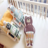 Cartoon Plush Toys Bear / Robot Sofa Cushion