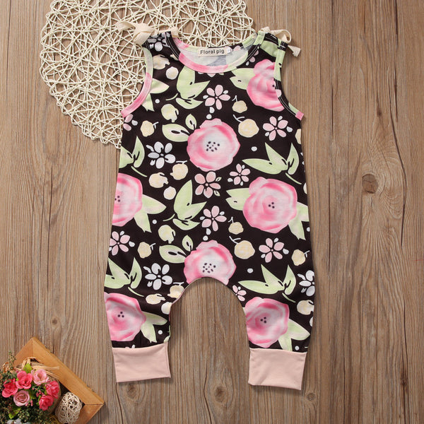 Flower Cute Jumpsuit