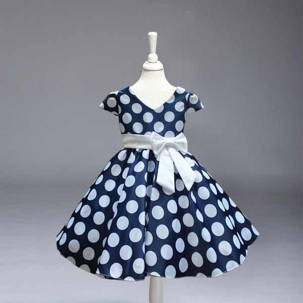 Princess Polka Dot Party Dress