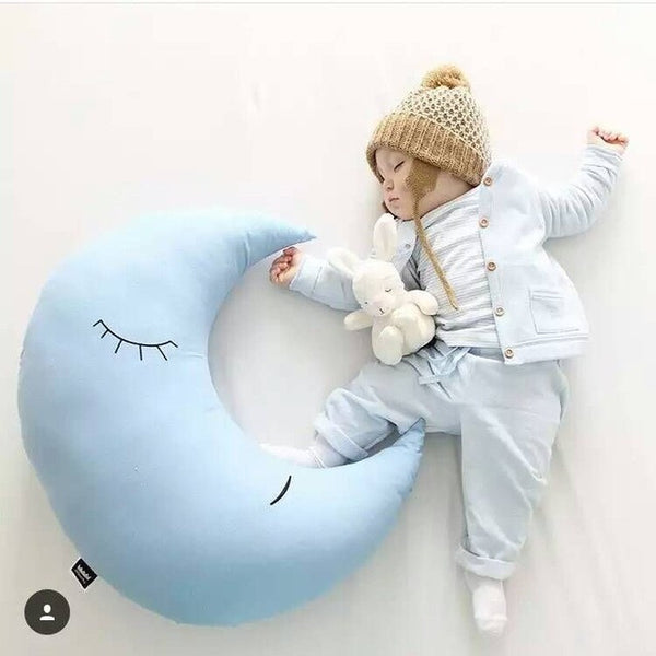 Half Moon Nursing Baby Pillow