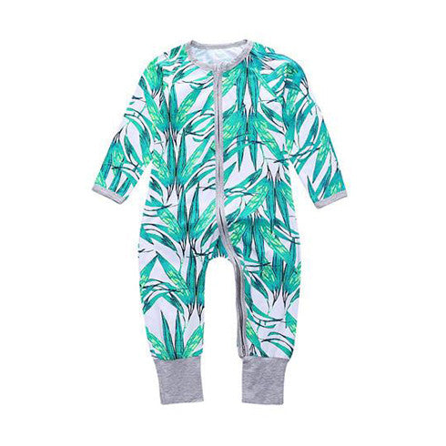 Tropical Living Jumpsuit Romper