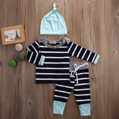 Long Sleeve Striped Set
