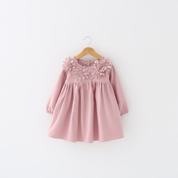 Flowers Princess Dress