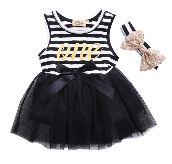 One Tutu Dress & Headband